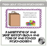 Meet Your School Psychologist: A lesson in PPT and Google Slides