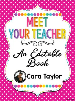 Meet Your Teacher Book and Student Book