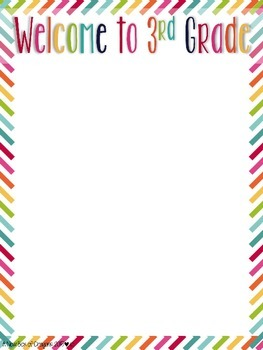 Back to School Letter Templates *EDITABLE*