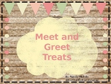 Meet and Greet Treat Template