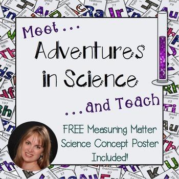 Meet and Teach – Adventures in Science Freebie!