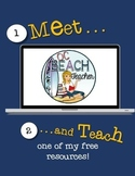 Meet and Teach Freebie