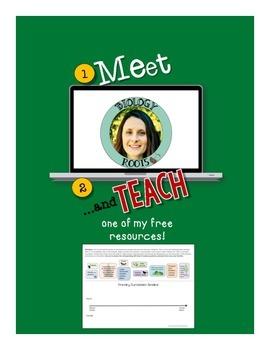 Meet and Teach e-Book Freebie: Primary Succession Cut-n-Paste Timeline