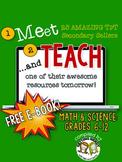 Meet and Teach eBook Math & Science, Grades 6-12 (Free)