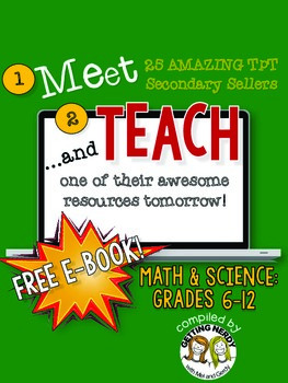 Meet and Teach eBook Math & Science, Grades 6-12 (Free)