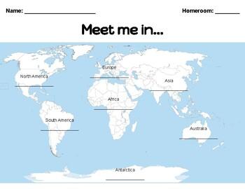 Meet me in...