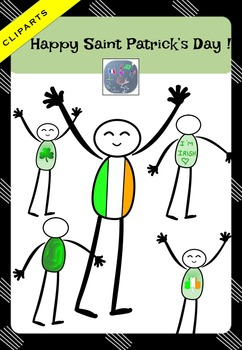 Meet my men! Saint Patrick's day Cliparts