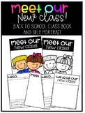 Meet our New Class- Back to School Class Book