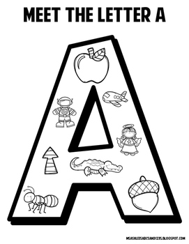 Meet the Alphabet Coloring Set
