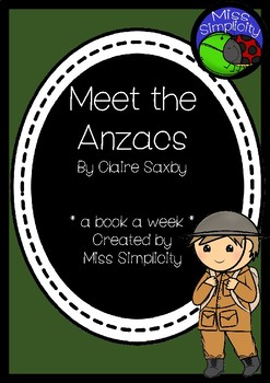 Meet the Anzacs ~ A week of literacy activities to accompa