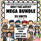 Meet the Artist- MEGA BUNDLE - All 25 UNITS - OVER 800 PAGES!