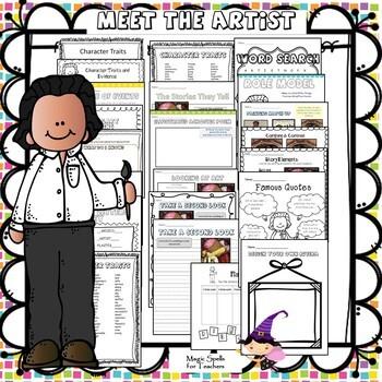 Meet the Artist- MEGA BUNDLE - All 25 UNITS - OVER 800 PAGES!