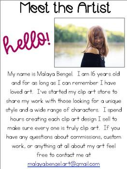 Meet the Artist!  Malaya.Bengel.Art