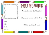 Meet the Author - Editable