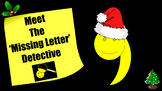The Apostrophe for Contraction: PowerPoint - Christmas Themed