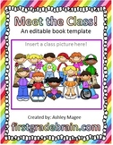 Meet the Class! - An Editable Book Template