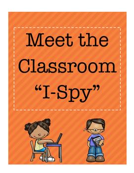 Meet the Classroom I-Spy