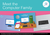 FREEBIE Meet the Computer Family Interactive Touch Game PD