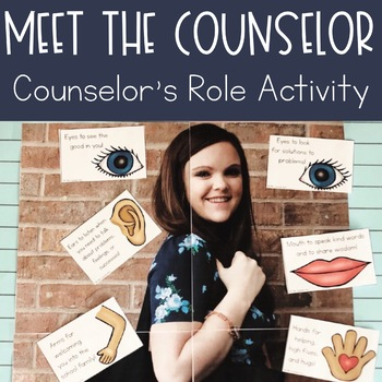 Meet the Counselor Activity | School Counselor Introduction Lesson Plan