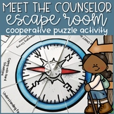 Meet the Counselor Escape Room Back to School Activity Lesson