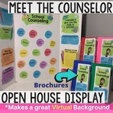 Meet the School Counselor Brochure and Open House Kit