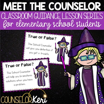 Meet the Counselor Classroom Guidance Lesson for Elementary School