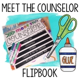 Meet the Counselor Flipbook editable