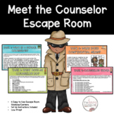Meet the Counselor Digital Escape Room Introduction Lesson