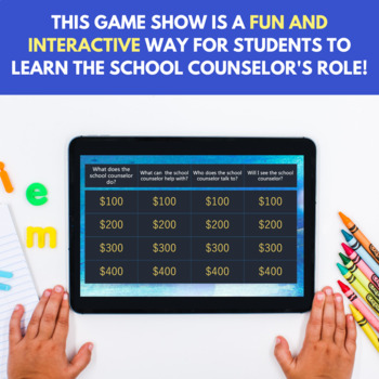 Meet the Counselor Digital Game Show Counseling Game