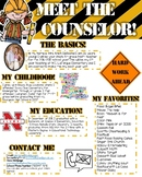 Meet the Counselor- EDITABLE- Construction