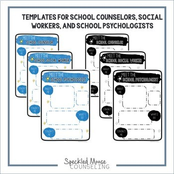 Meet the Counselor: Editable Introduction handout and presentation