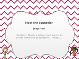 Meet the Counselor Jeopardy