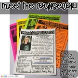 Meet the Counselor Newsletter- EDITABLE - Basic Printer Friendly