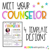 Meet the Counselor | Welcome Letter Template