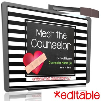 Meet the School Counselor Presentation for Back to School Parent Night
