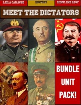 Dictators BUNDLE