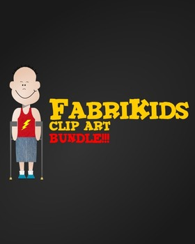 Meet the FabriKids Clip Art Set BUNDLE!! - Kids and Students