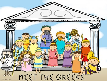 Meet the Greek Olympians and Trading Card Activity