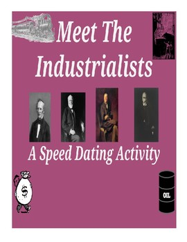 Meet the Industrialists - A Speed Dating Activity