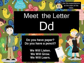 Meet the Letter D