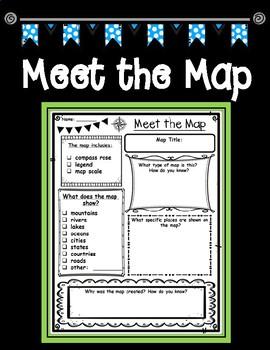 Meet the Map, Map Analysis Graphic Organizer