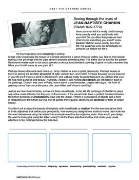 Meet the Master-JEAN-BAPTISTE CHARDIN