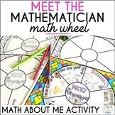 Meet the Mathematician Wheel