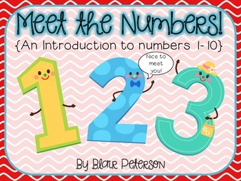 Meet the Numbers! {An Introduction to Numbers 1-10}