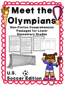 Meet the Olympians: U.S. Soccer Edition (Non-Fiction Compr
