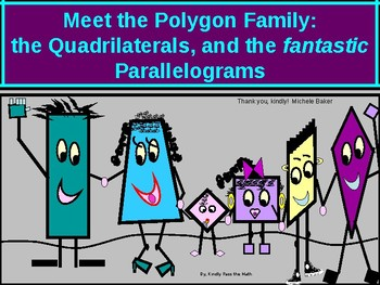 Power-Point:  Quadrilaterals, and Distinguished Parallelograms