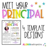 Meet the Principal | Welcome Letter Template