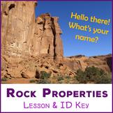 Meet the Rocks - rock properties lesson & identification key