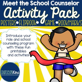 Meet the School Counselor Activity Pack & Lesson Plan