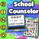 Meet Your School Counselor Bingo & Editable PowerPoint Lesson